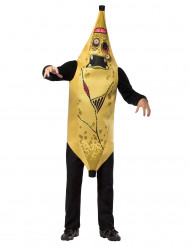 Costume banana zombie adulto