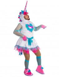 Costume umoristica da unicorno per uomo