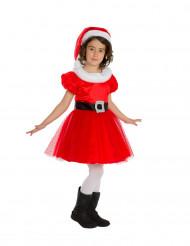 Costume Mamma Natale Bambina Premium