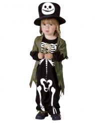 Costume scheletro della notte bambino Halloween
