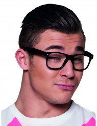 4 occhiali neri adulti