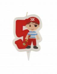 Candela 5 anni pirata