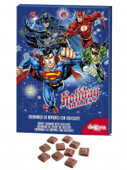 Calendario dell'avvento cioccolata DC Comics™