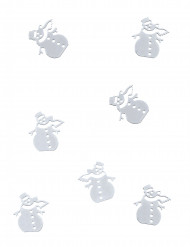 Coriandoli da tavola pupazzo di neve 10 gr