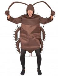 Costume scarafaggio 6 zampe Adulto