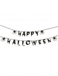 Ghirlanda Happy Halloween con insetti
