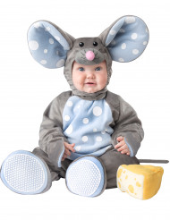 Costume topolino grigio per neonato/bambino - Lusso