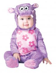 Costume da ippopotamo viola per neonato - Classico