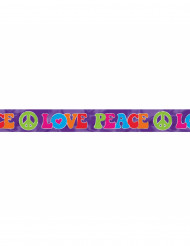 Striscione Hippie multicolore