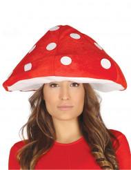 Cappello da fungo velenoso per adulto