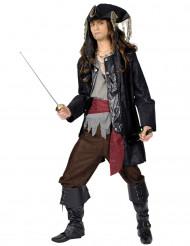 Costume da pirata Barbanera per uomo