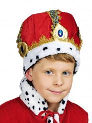 Corona rossa imperatore bambino