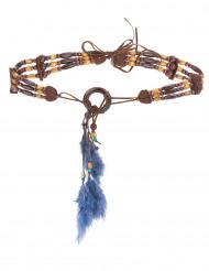 Cintura con piume indiano adulto