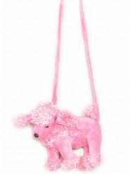 Borsetta a forma di cane rosa
