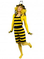 Costume da ape per donna con salopette