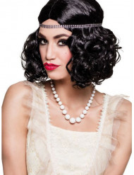 Collana di perle bianche per donna