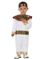 Costume egiziano bianco bebè
