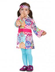 Costume da Hippie multicolore per bambina