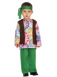 Costume hippie multicolore bébé