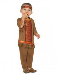 Costume indiano con frange bebè