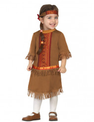 Costume indiana a frange bebè