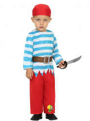 Costume marinaio pirata con pantalone bebè