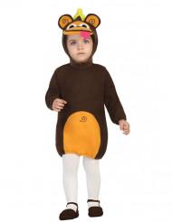 Costume vestito scimmia bebè