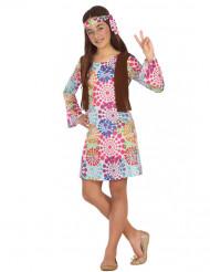 Costume da Hippie psichedelico per bambina