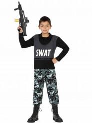 Costume da poliziotto SWAT per bambino