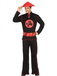Costume cinese nero Adulto