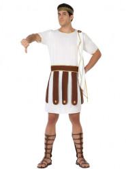 Costume romano bianco uomo