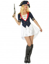 Costume da soldato francese Donna