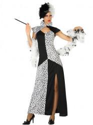 Costume vestito dalmata donna