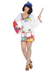 Costume pittrice Donna