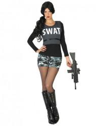Costume SWAT militare Donna