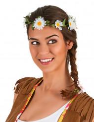 Corona di fiori bianca Adulto