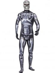 Costume T-800 cyborg Terminator™ adulto