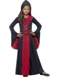 Costume da strega incappucciata per bambina