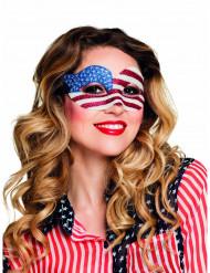 Mascherina paillettes USA Donna