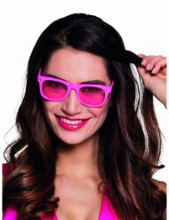 Occhiali rosa fluo 50