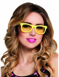 Occhiali giallo fluo 50