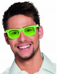 Occhiali verdi fluorescenti anni