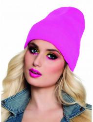 Cappello rosa fluo anni