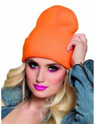 Cappello arancione fluo