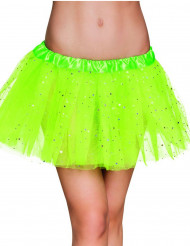 Tutù verde scintillante per donna