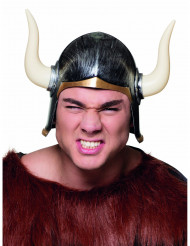 Casco vikingo con corna adulto