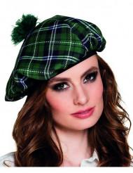Berretto verde scozzese