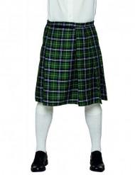 Kilt scozzese verde uomo