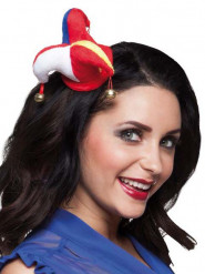 Mini cappello joker clown adulto