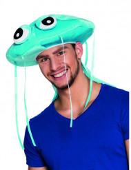 Cappello medusa blu Adulto